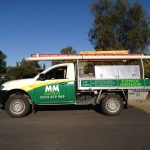 MM Electrics Biloela Electricians Ute