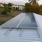 Shed Solar Installation Solar Panel Install Biloela